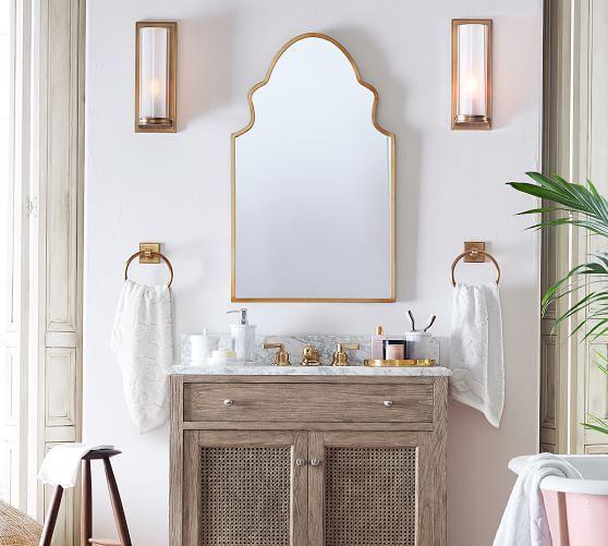 Stella Powder Room Mirror Powder Rooms And Baths