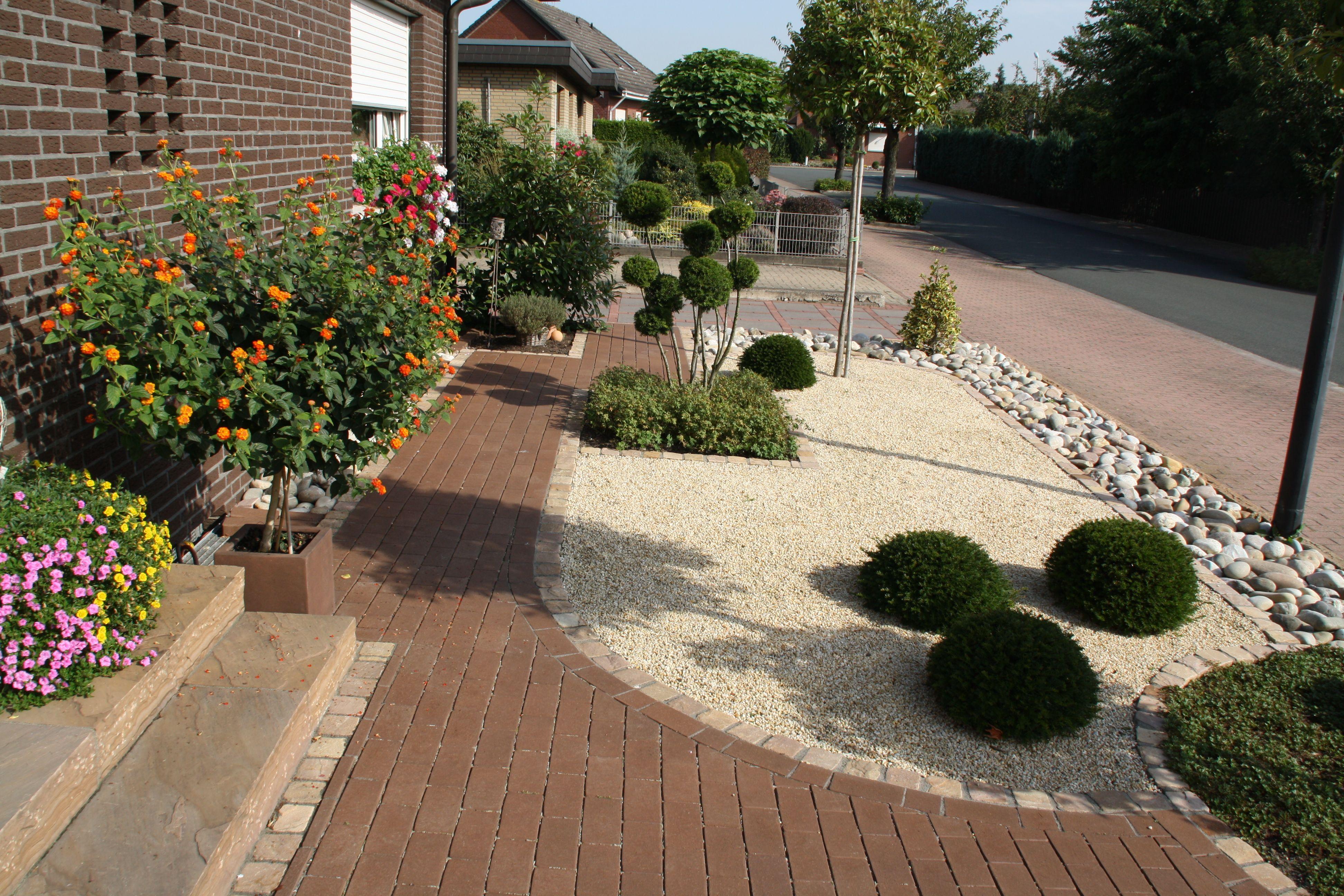 pflegeleichter Vorgarten   Garten, Vorgarten, Garten ideen