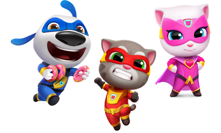 ‎Talking Tom Hero Dash App Store Story in 2020 Talking