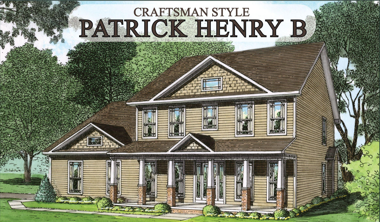 Patrick Henry B Craftsman Final Jpg 2326 1356 House Styles