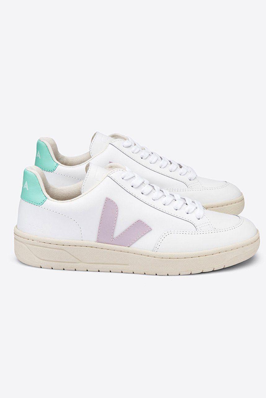 Veja V12 Extra White Turquoise \u0026 Lilac
