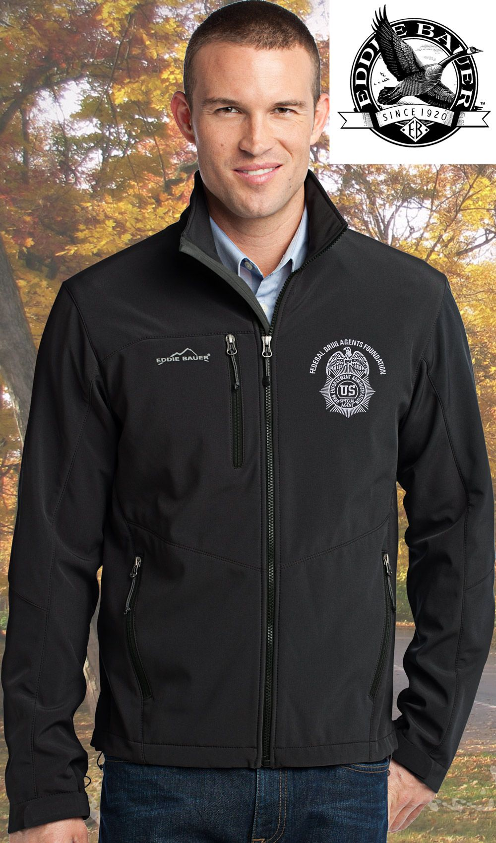 Design your own stylish jackets with your own logo.