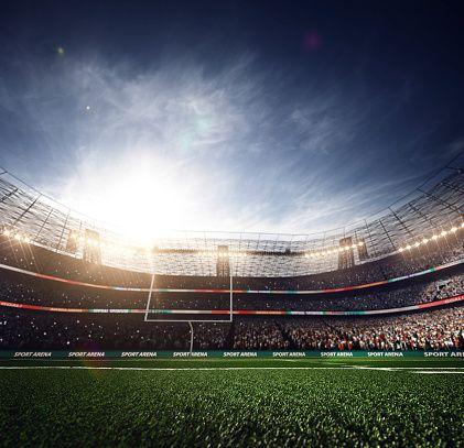 American Football Stadium 3drender Football Stadiums American Football Stadium