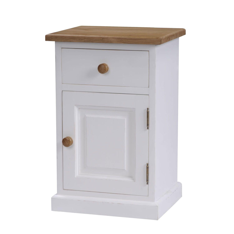 Portland Grey 3 Drawer Bedside The Cotswold Company Wooden Bedside Cabinets Oak Bedside Tables Bedside Cabinet
