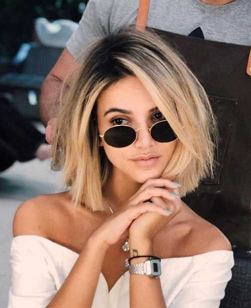 40 Latest Short Haircuts for Women - #haircuts #Latest #Short #Women #balayagehairstyle