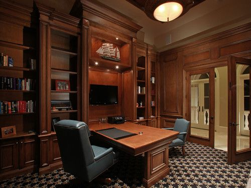 Home Office Photos Partner Desk Design