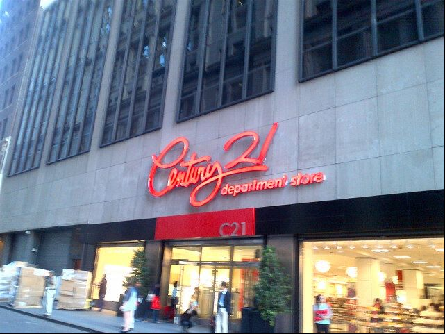 Century 21 Department Store New York Shopping Department Store Nyc Map