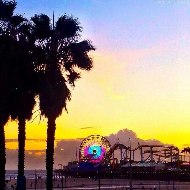 Pacific Park, Santa Monica, L.A.