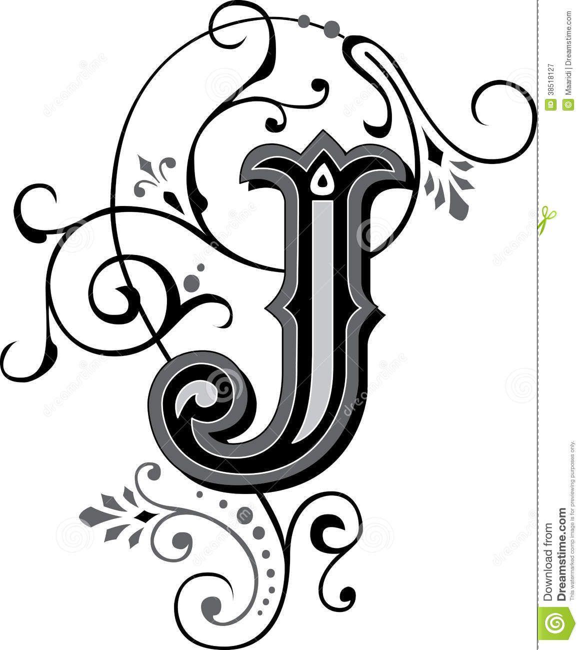 Letter J Fancy Letters Lettering Alphabet