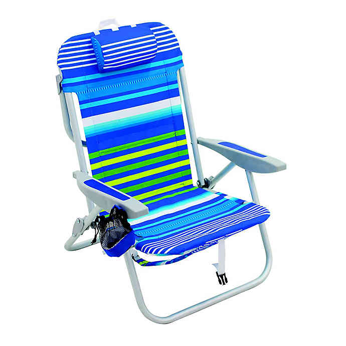 Rio 5 Position Backpack Beach Chair In 2020 Backpack Beach Chair Beach Chairs Beach Chair Umbrella