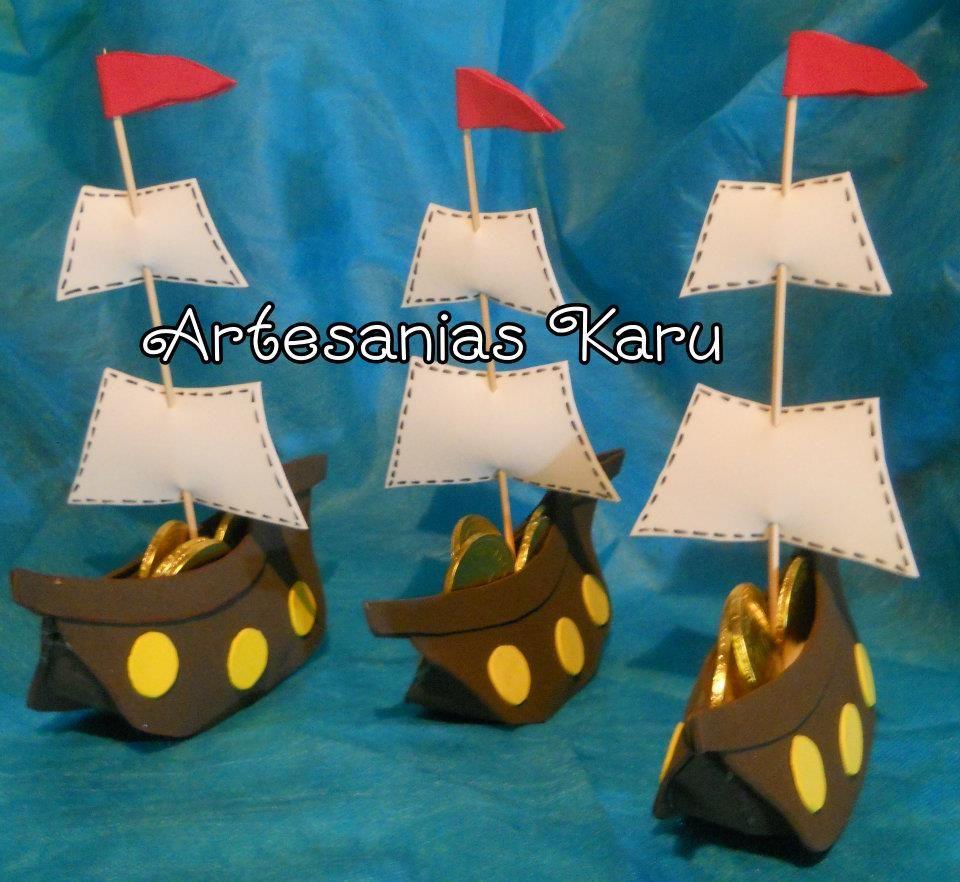 Barco pirata manualidades para verano pinterest for Piscinas de goma
