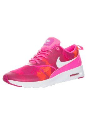 to buy 93023 76e4d AIR MAX THEA LAW - Matalavartiset tennarit - pink pow white-frbrry-ttl orng