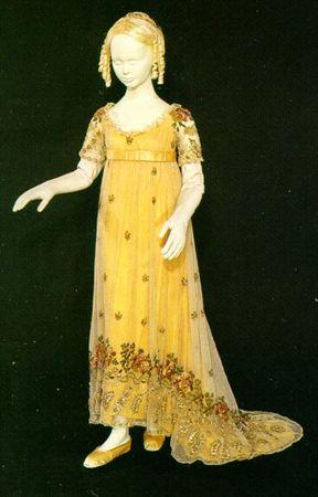Dress 1810 Portugal Vintage Childrens Clothing Historical Dresses Childrens Fashion