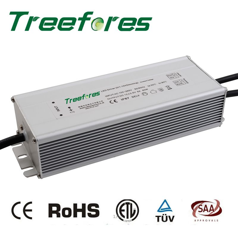 Ip67 0 10v Pwm Dimmable 60w 12v 24v Dc Outdoor Lighting Led Transformer Power Supply Dimming Led Driver A Led Outdoor Lighting Light Accessories Ceiling Lights
