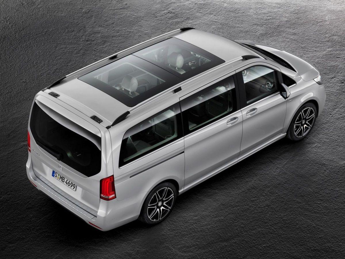 Roskoshnyj Miniven Mercedes V Class Amg Line Foto Livecars Ru