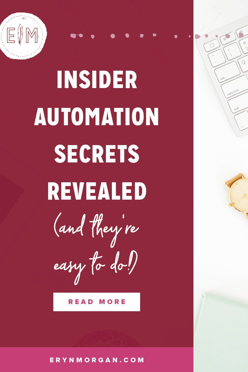 Insider Automation Secrets Revealed Business Systems Coaching Business Business Mentor