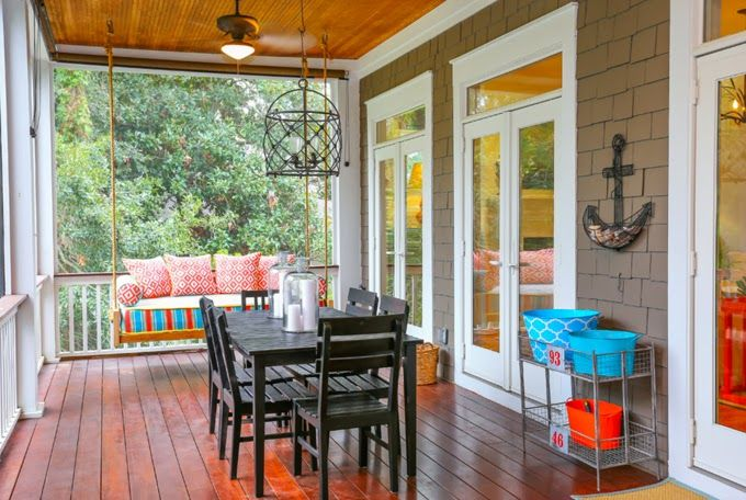 House of Turquoise: Cindy Mihuc of GDC Home | coastal porch