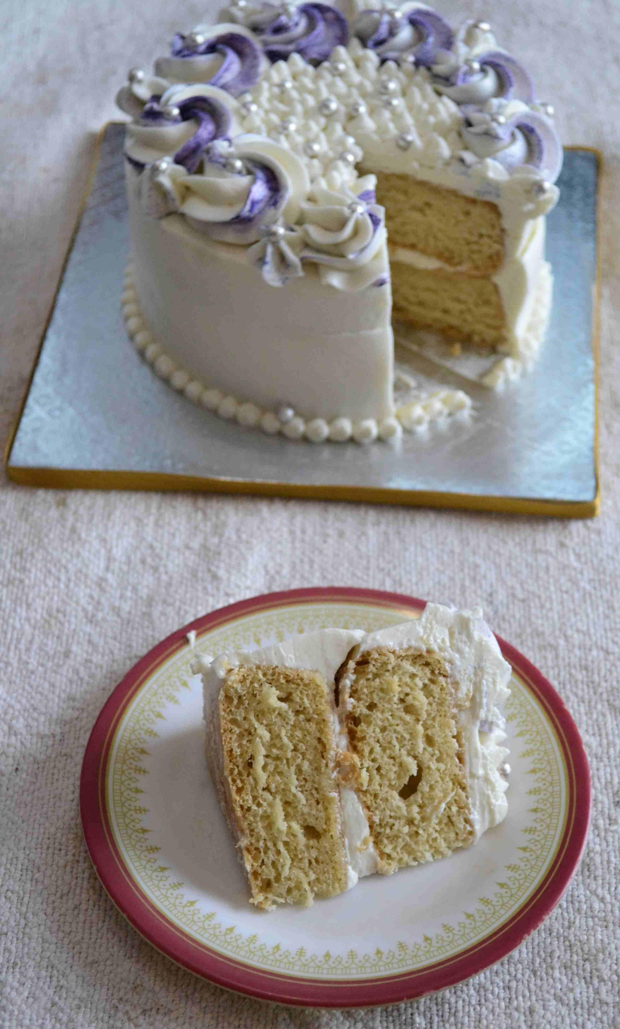 Vegan Vanilla Sponge Recipe Vegan Vanilla Cake Vanilla Sponge