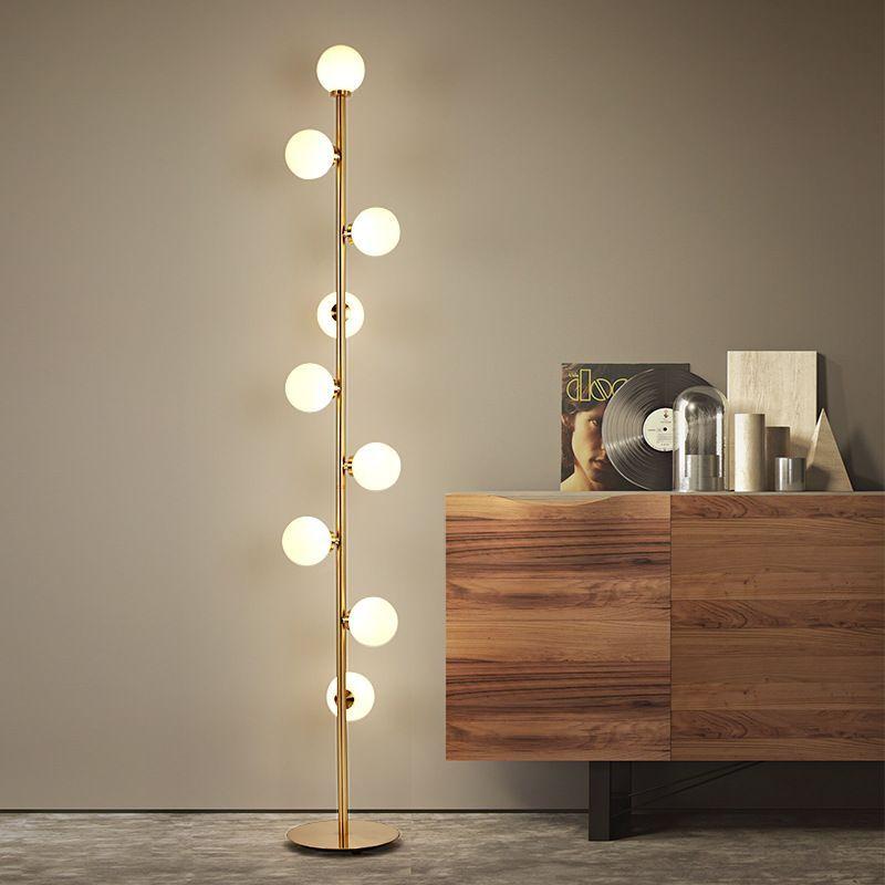 Modern LED living room standing luminaires Nordic lights