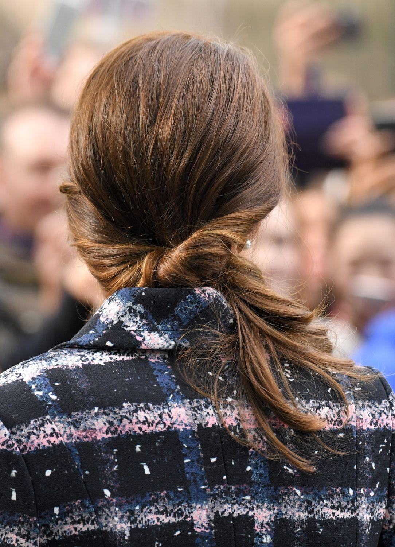 On Veut Toutes La Queue De Cheval 90s De Kate Middleton Coiffures