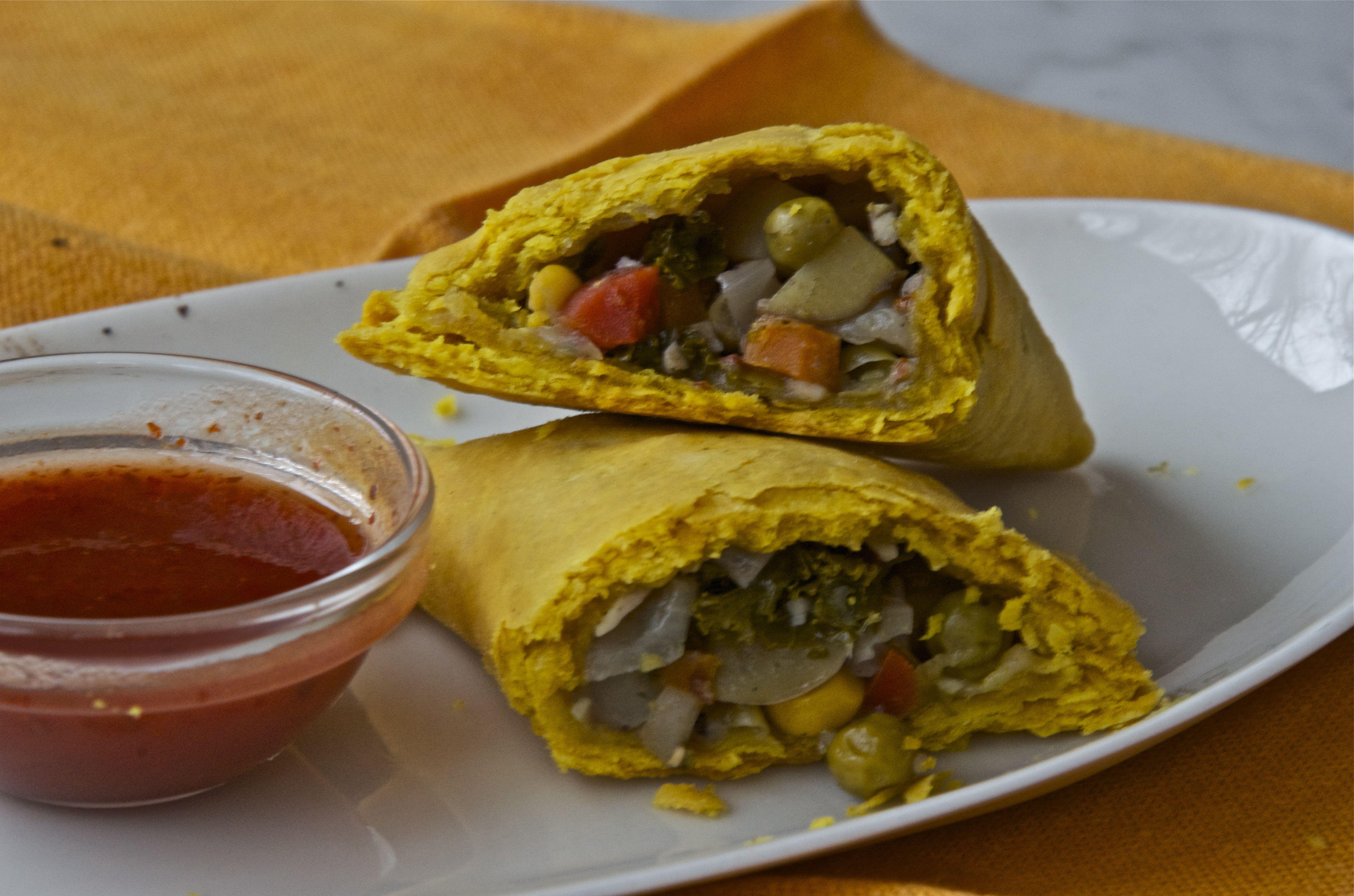 Jamaican veggie patties cobblers pies pastries