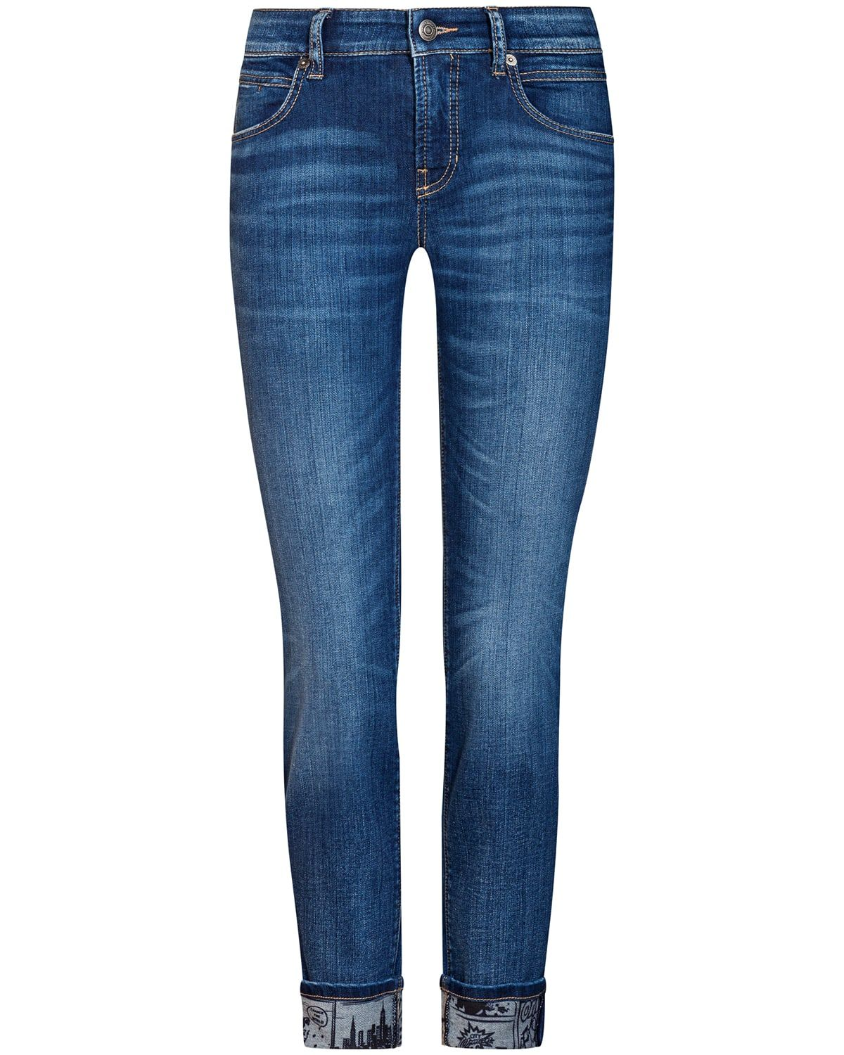 fd90bc6dcbb Cambio Pina 7 8-Jeans Mid Rise