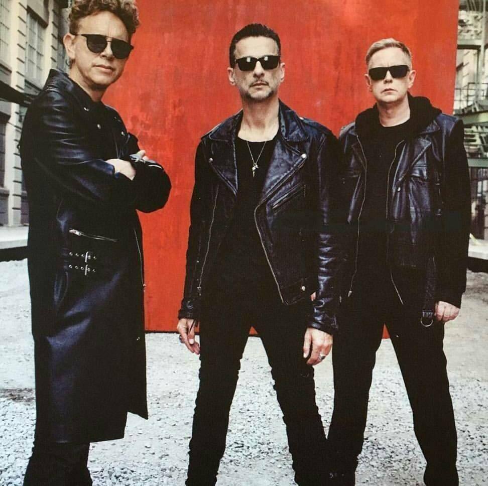 Depeche Mode 2017 Red Leather Jacket Fashion Leather Jacket