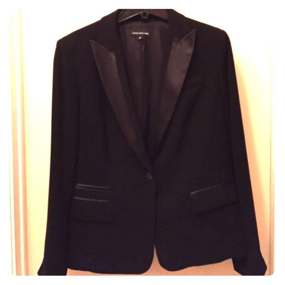 Jones New York tuxedo jacket Never worn. A beautiful piece to add to your collection. This is a must have piece! Timeless! Jones New York Jackets & Coats Blazers
