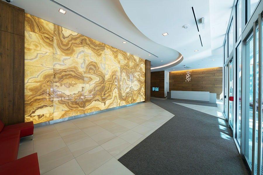 Backlit Onyx Lobby Feature Wall | TEXTURE | Pinterest | Lobbies ...