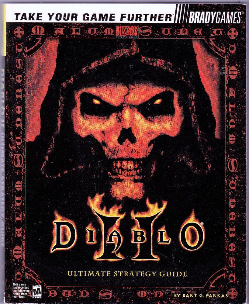 official diablo 2 ii ultimate strategy guide by bart farkas 2000 rh pinterest co uk diablo ii strategy guide diablo ii strategy guide