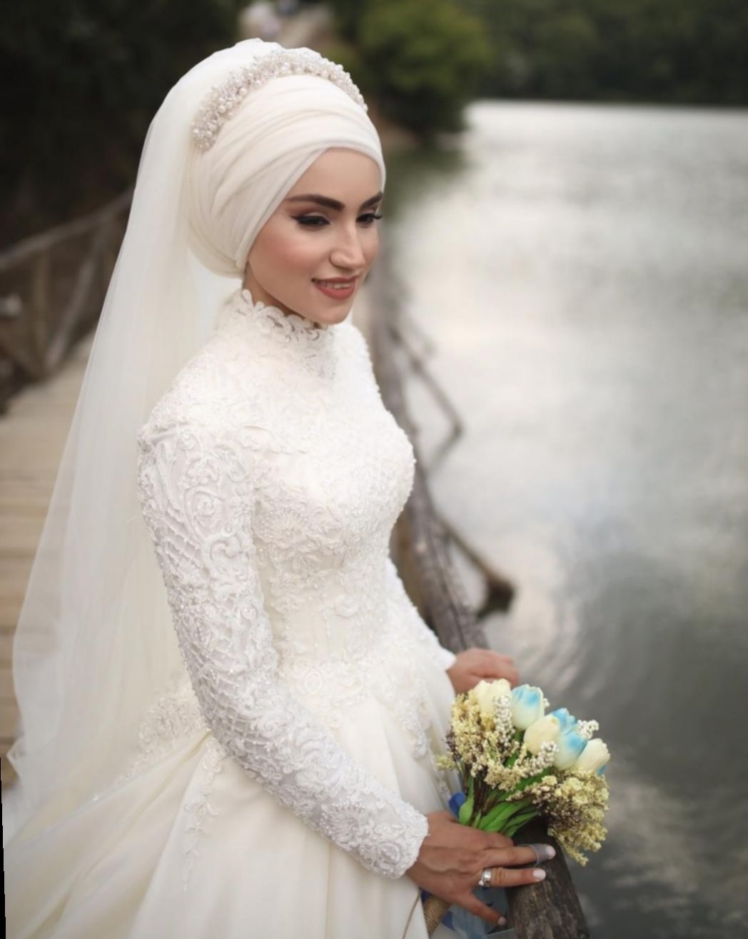 Dress Wedding Simple Indian Hairstyle Outfits Glam Wedding Dresses Muslim Wedding Dresses Gothic Wedding Dress [ 1315 x 1048 Pixel ]