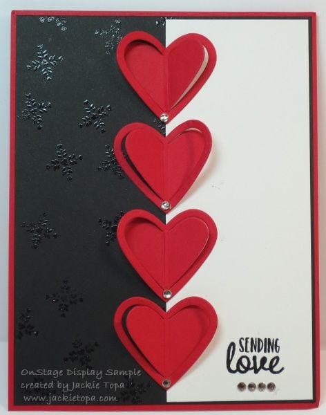 Onstage Ottawa Sample Valentinstag Love Stamps Stamp Und Cards