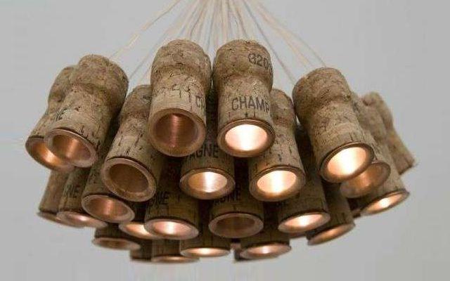Corchos lámpara  #Iluminación  #Lighting
