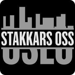 Logo Stakkars oss. Logodesign. Logo design.