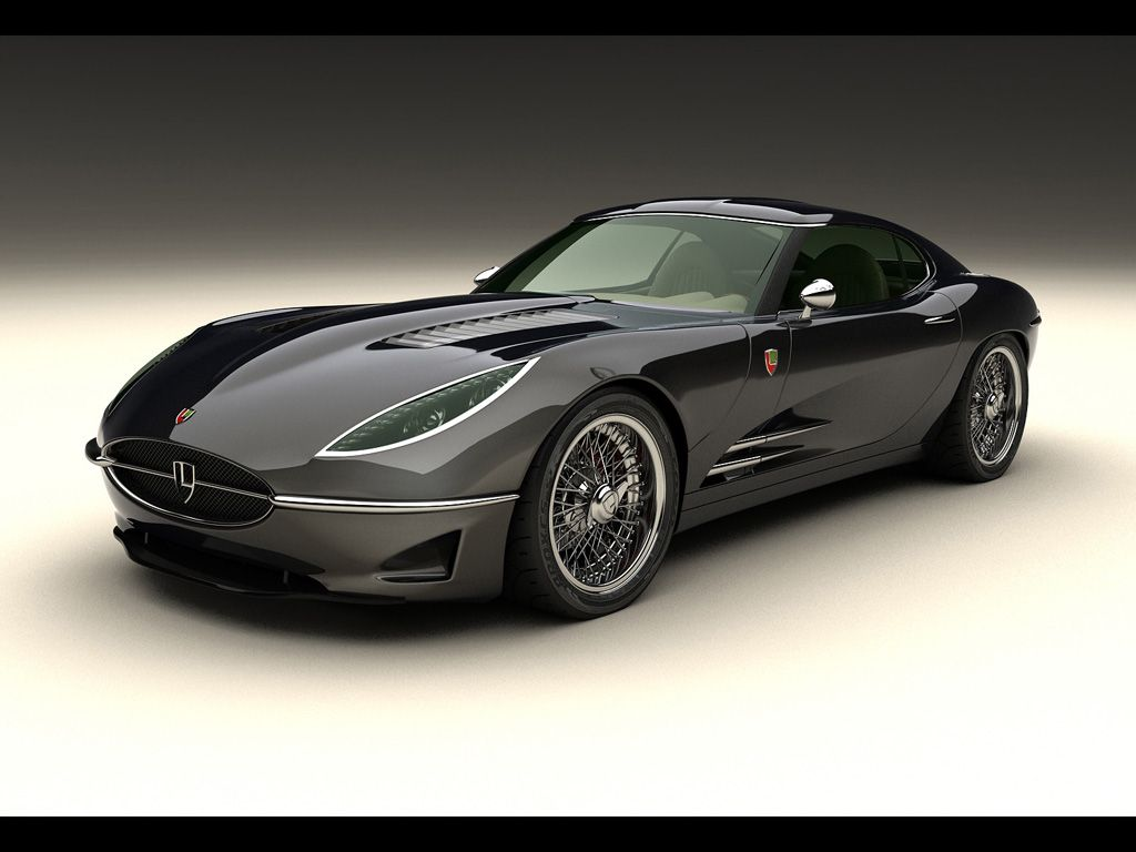 E-type Jag Concept by a modern motor company    Still think
