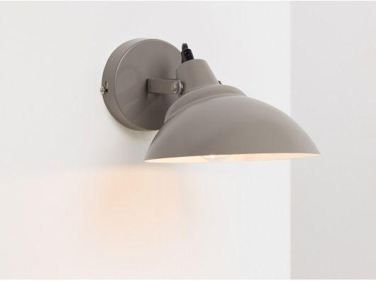 Avery wall light mid grey tuckmill style in 2018 pinterest