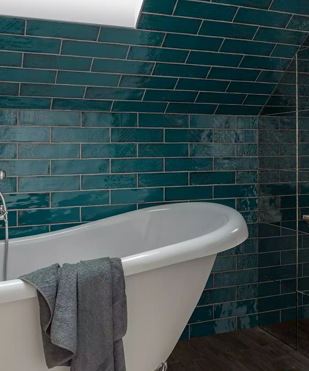 lampas™ peacock tile  topps tiles  tile bathroom simple