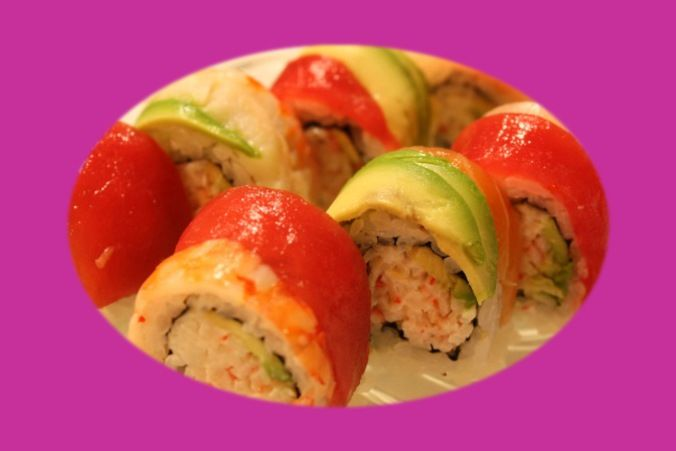 sushi for lunch #Sushi aficionados never check out any food selection, don't often apply chopsticks, to avoid soya spices and extra #wasabi. ==>sushi for dinner #gourmet #yummy