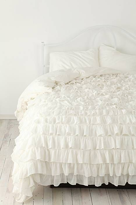 Ruffled Duvets For A Dreamy Look Ruffle Duvet Cover Ruffle