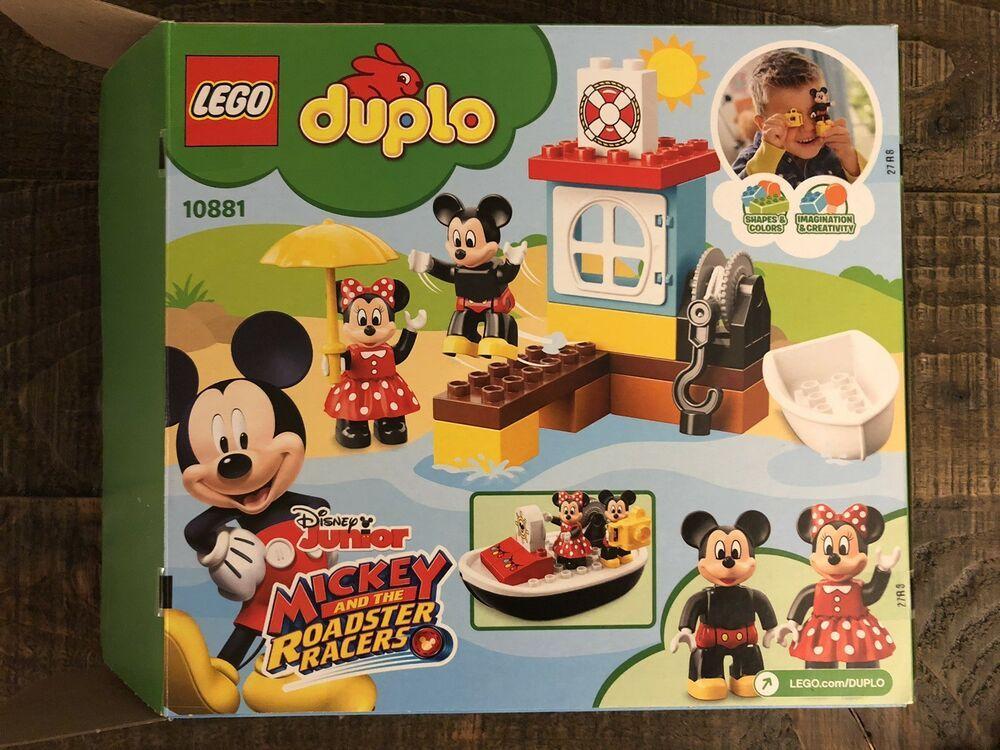 Lego Duplo Disney Junior Mickey S Boat Building Set 10881 Afflink When You Click On Links To Various Merch Disney Junior Mickey Mouse Disney Junior Lego Disney