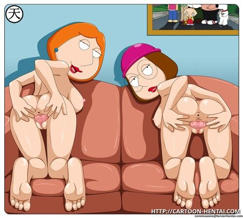 Meg Cartoon guy porn family