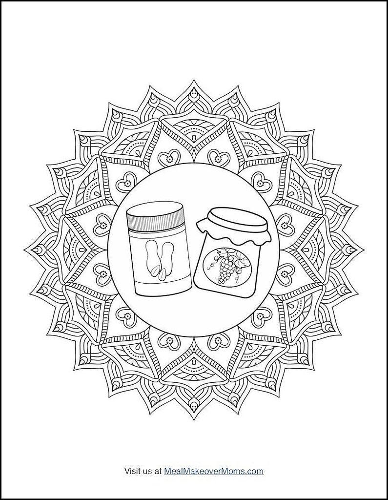 The Smoothie Bowl Coloring Cookbook Via Mealmakeovermoms Com