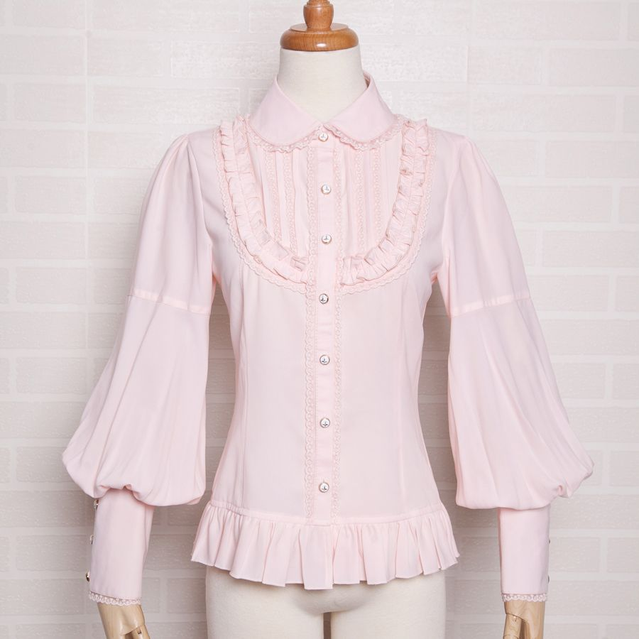 Cheap vintage womens shirts, Buy Quality women shirts directly from China  shirt women Suppliers: Vintage Women Shirt Lolita Girl Princess Pink Blouse  Puff ...