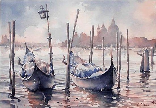 christian graniou watercolor - Пошук Google