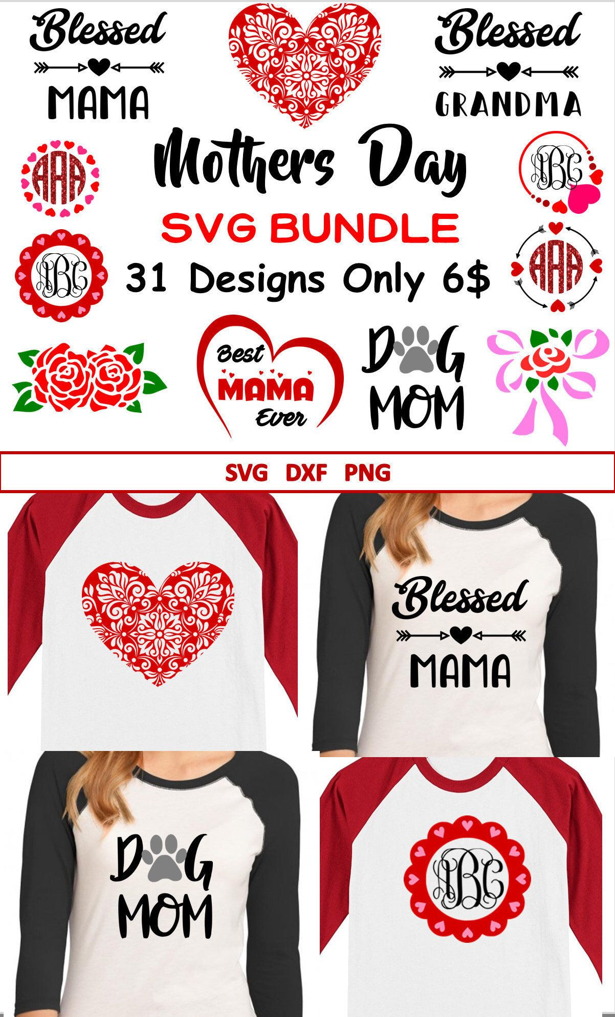 Free Mom svg bundle, mom svg, svg bundle, svg bundles, mother svg, mothers day svg bundle included are 6 svg, 6 dxf, and 6 eps files that are ready for your cutting machine. Mothers Day Svg Bundle Mothers Day Monograms Svg For Cricut Etsy Diy For Girls Diy Mothers Day Gifts Monogram Svg SVG, PNG, EPS, DXF File