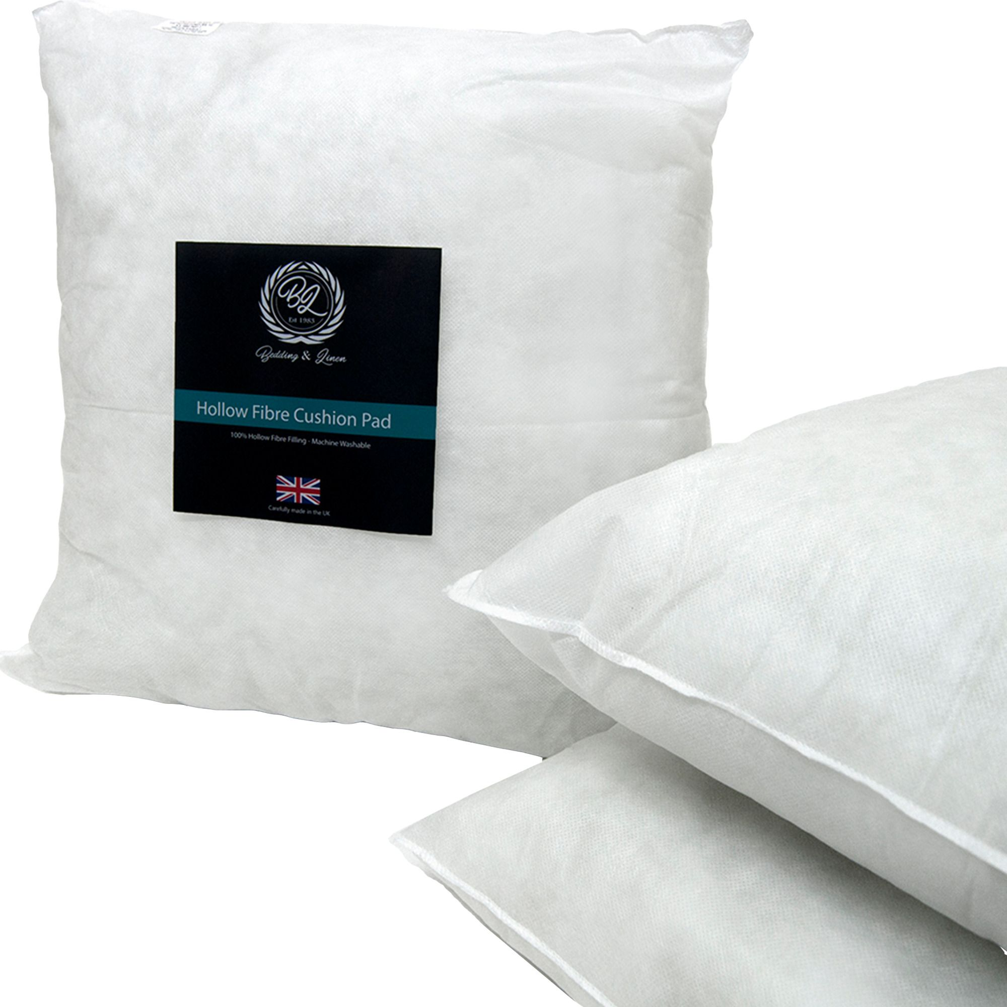 Hotel Quality Hollow Fibre Cushion Pads Insert Fillers Inners