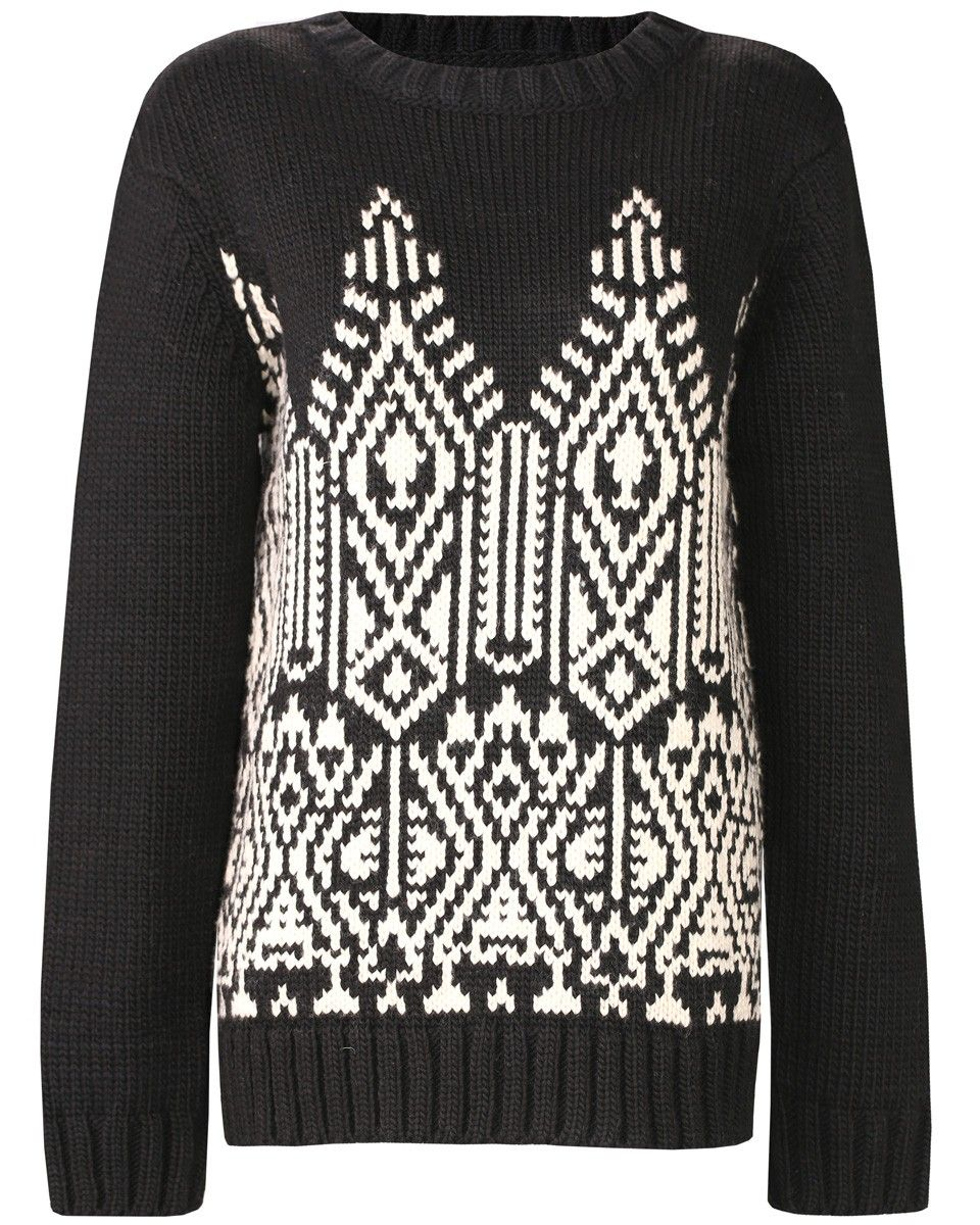 Fair Trade Cast Knitted Jumper #fashiontakesaction Adorable jumper.  Would pair with jeans and casual shoes.  Perfect for a snow ball fight.