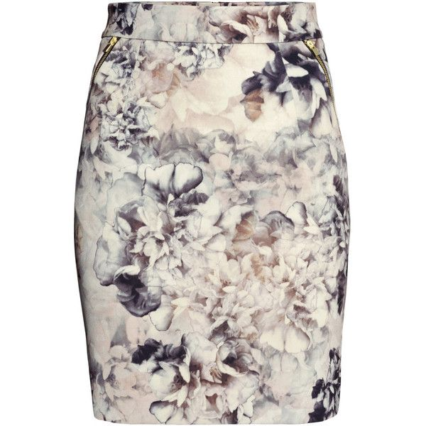 Consider, that H m floral skirt