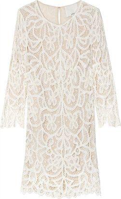ShopStyle: 3.1 Phillip Lim Hairpin Lace Shift Dress