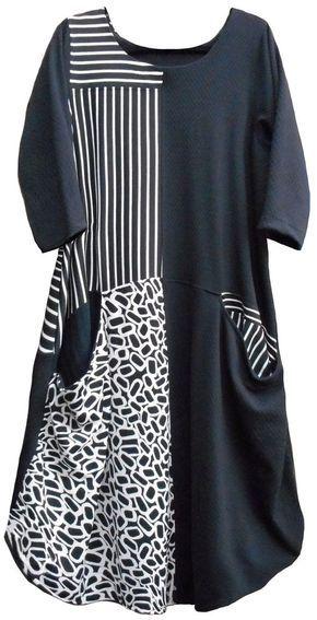 Pheenie Dress, womens PDF sewing pattern   Kleid nähen, Aus alt mach ...